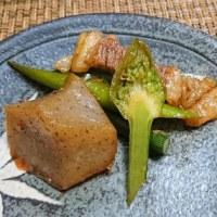 ニンニクの芽の炒め物