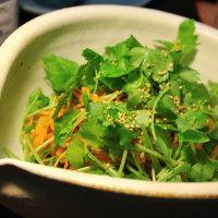 人参とみつ葉のサラダ