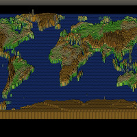 世界地図を作ってみる