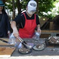 里山体験プログラム「タマネギの収穫と牛丼作り」