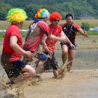 第3回 たんぼラグビーin 京都・福知山