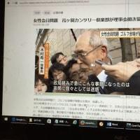 画家・渡辺幸子の夫は、Golf Ballを売る会社の社長です so Ms. Eiko Ooya Conquered NHK on 3rd February