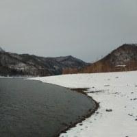 昼から近郊ダム湖へ