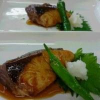 手まり寿司&ブリの照り焼き&菜の花のお吸い物