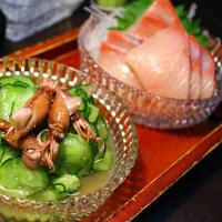 ほたる烏賊と胡瓜のわさび酢