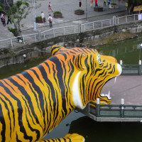 台灣縦断旅行記 26 蓮池潭龍虎塔