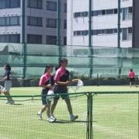 テニス部女子団体はブロック大会進出決定!