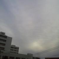 2016/10/24        午前8時過ぎ札幌の空模様