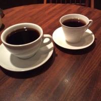 ビックリサイズのコーヒー