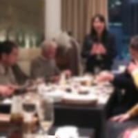 クリスマス柄のティッシュカバー&古巣の50周年記念パーティー