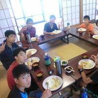 かみなか長期合宿2015~3・4日目(8/11・12)の様子♪~広報誌作成・キャンプファイヤー☆
