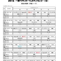 U12:12月17日、一宮FCサッカーフェスティバル(追記あり)