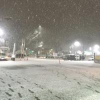 吹雪の予感