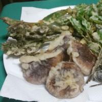 ◇◇◇格別だった山菜の天ぷらを…♪
