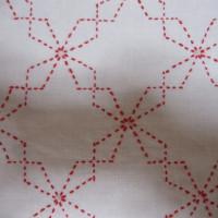 変わり角七宝の布巾