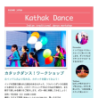 7/25(火)キッズ&親子向けカタックダンスワークショップ