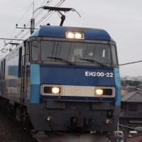 2017年6月26日,今朝の中央線 81レ EH200-22