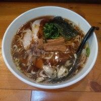 「正油ラーメンさとう」soy sauce noodle sugar
