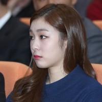 キム・ヨナの厚化粧&こわい顔