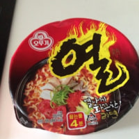 Yeul Ramen 韓国カップラーメン