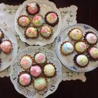 マシュマロフォンダントケーキ