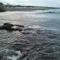 今日の日本海。