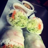 Rainy day and Vietnamese food:)
