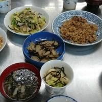 料理教室でメニュー開発