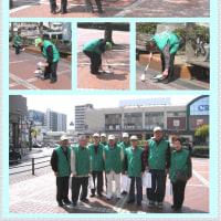 2017.6.1広島・呉 JR呉駅前で171PR・清掃活動