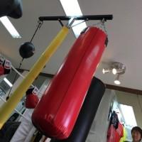 昨日はボクシング練習
