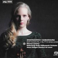 S.ラムスマ+オランダ放送フィル=ショスタコーヴィチ「ヴァイオリン協奏曲第1番」他