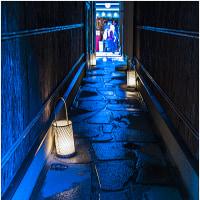 京都・青の路地