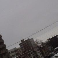 2017/2/23 午前8時半と午後1時半(撮影時間)札幌の空とお天気(午前の写真UPし直しました。)