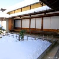 信州・松代 「雪の真田邸……!」、雰囲気最高です。(2)