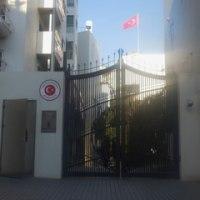 婦人クラブのお茶会でトルコ大使館へ。その後、マンガ展へ