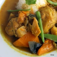 鶏肉と南瓜のコロンボカレー