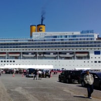 船ですが巨大ビルでした