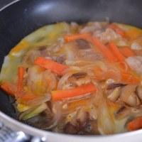 簡単料理の豚バラ丼を・・・