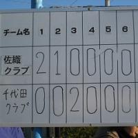 12月1日(土) 練習試合(A)対千代田クラブ