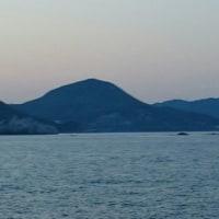 和歌山向け航行 ベタ凪