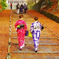 毘沙門天の参道in京都市