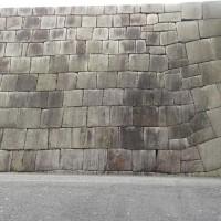 皇居東御苑の石垣一部