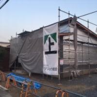 美濃加茂市でゼロエネ住宅の建前です