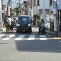「ウルトラマン商店街」入り口のNTT東日本電柱が邪魔だ