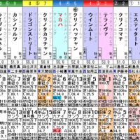 【マカハ】1/22京都11R 石清水ステークス・枠順&予想