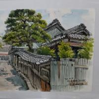 堀田富彌の水彩画展