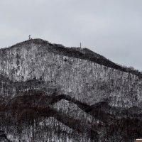 2017.01.16 AM 07:33藻岩山・平和の塔・手稲山・円山・三角山