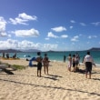 天国の砂浜