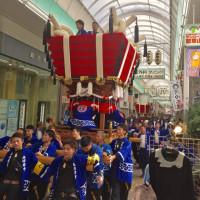 瓢箪山の祭り
