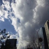 先日の冬の空